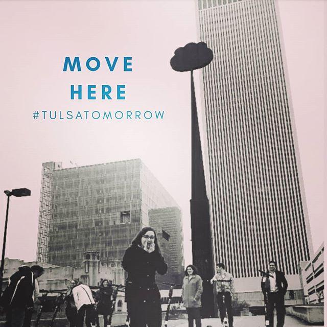 . MOVE HERE #tulsatomorrow  www.tulsatomorrow.com . . @centeroftheuniversetulsa  @jewishbrides  @jewishfood  #jewishlife  #jewishfederation  #israeliemissary  #tulsainternationalairport  #jewishyoungprofessionals  #careernetworking  #philanthropiccity  #gkff #schustermanfoundation  #aliyah #tulsa