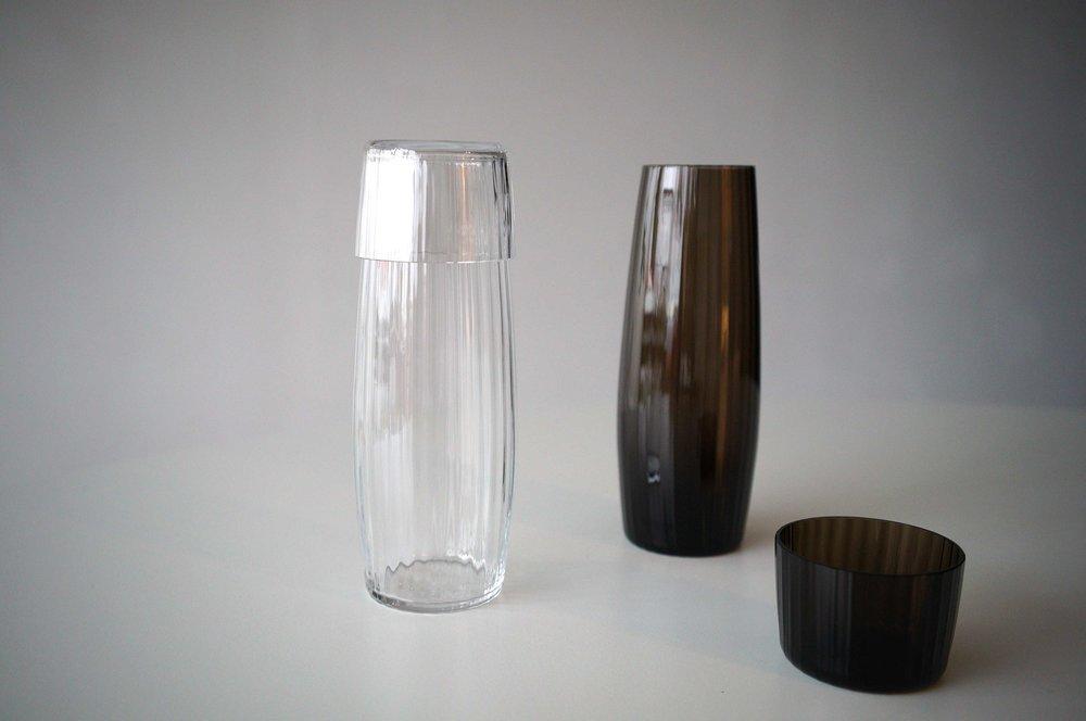 Foto Cirkel Studio)   Crystal (links) en Lava (rechts)