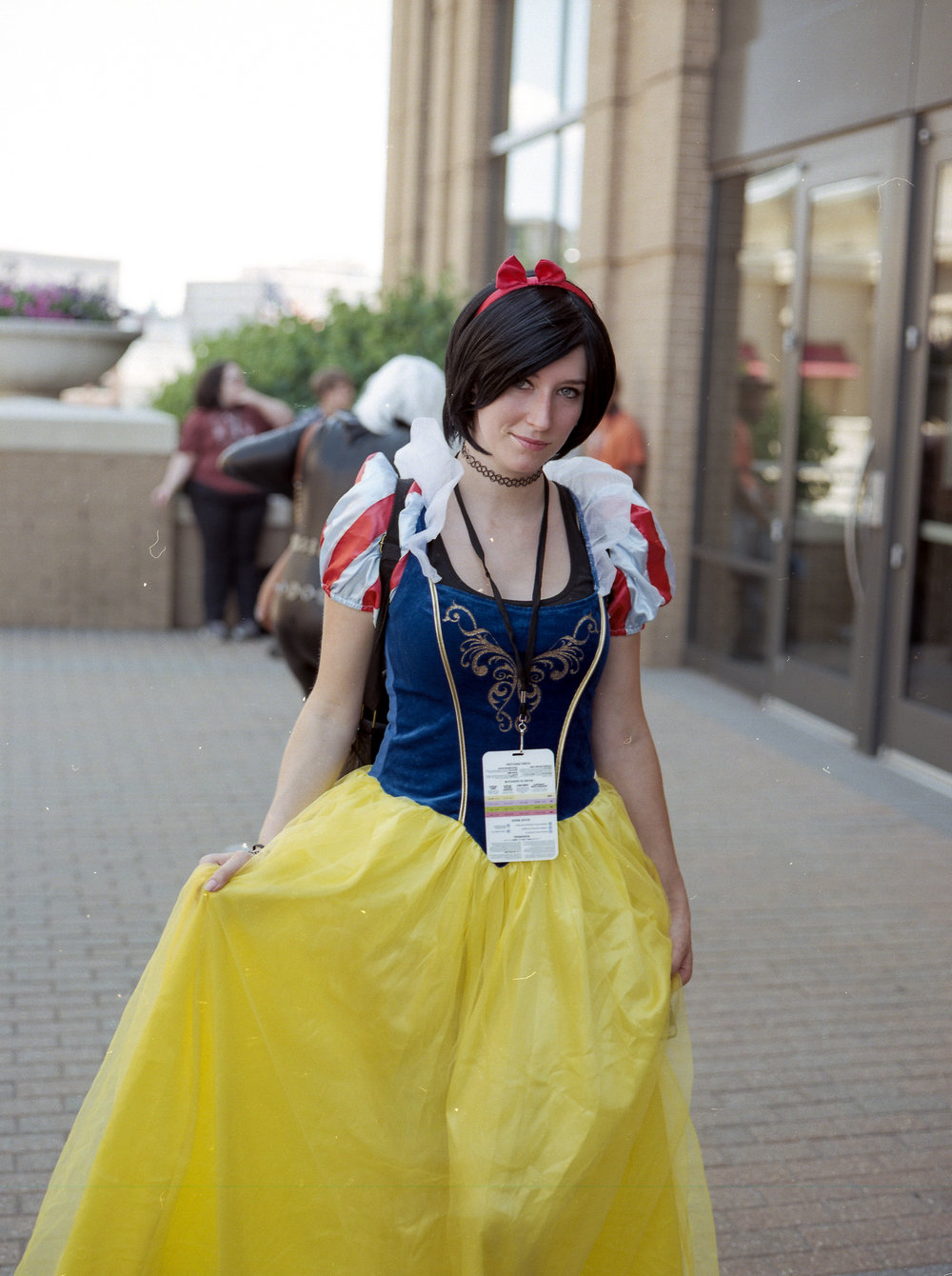 Snow white Portra