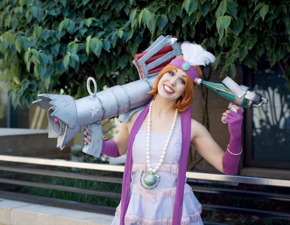 Kyla cosplay on Kodak portra 160 film