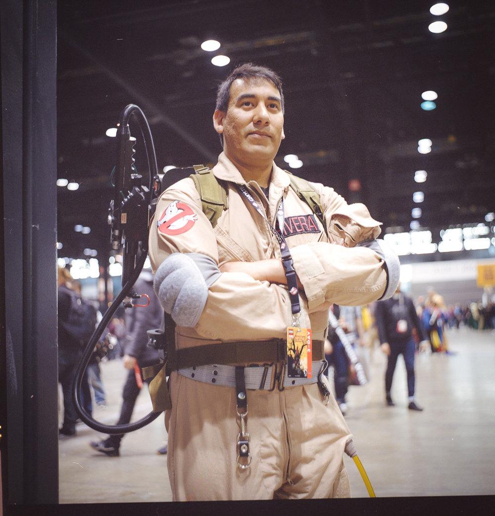 C2E2 kodak portra film cosplay portrait