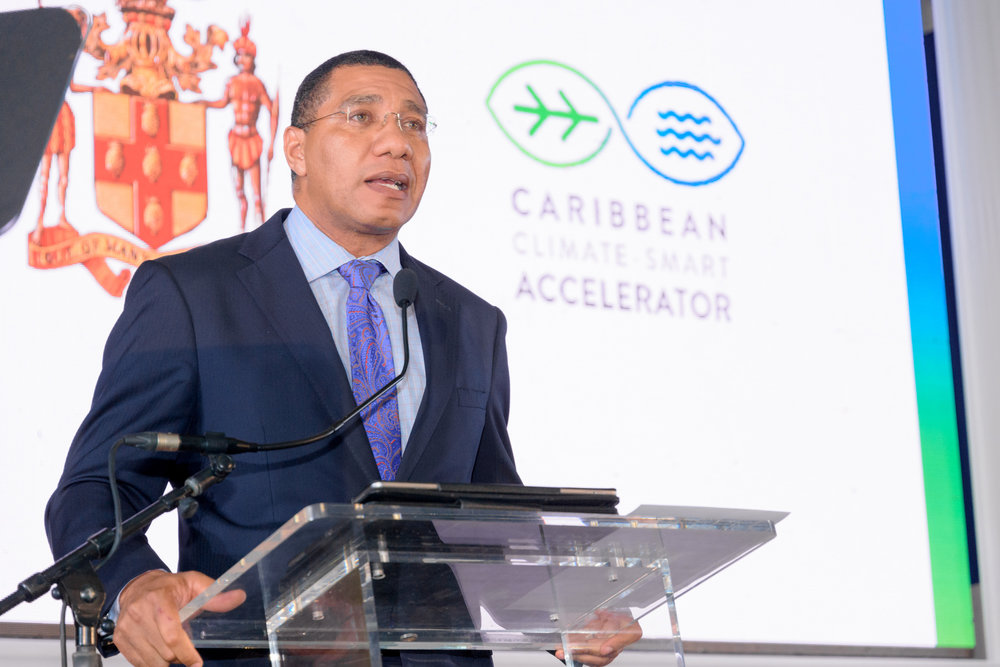 The Most Honourable Andrew Holness, Prime Minister of Jamaica