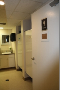 Dorm Washroom                    (very clean!)