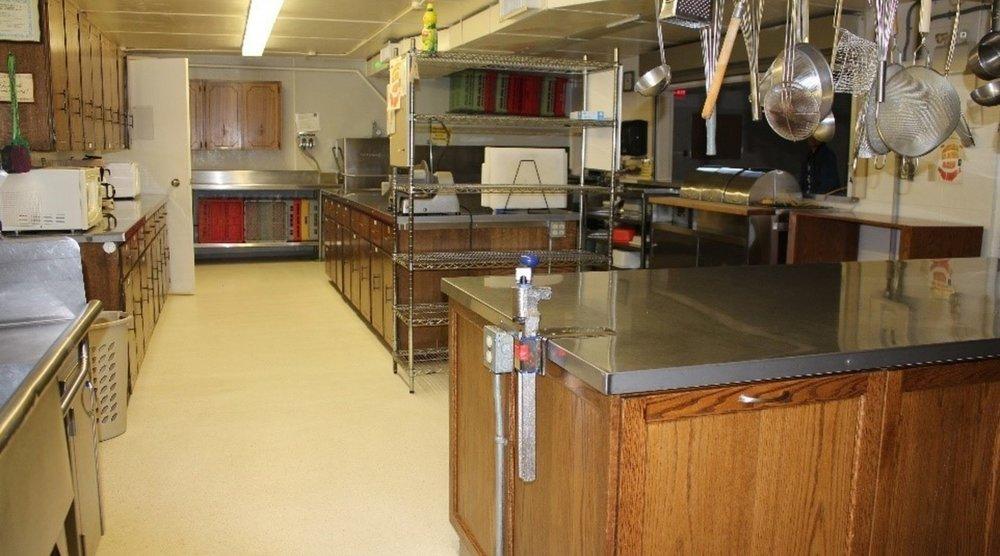 Christian Center -  Kitchen