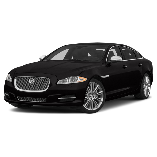 Jaguar XJL - Our Jaguar XJL seats up to 4 passengers with plenty of room for luggage.