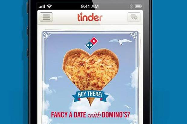 Die Tinder Kampagne von Domino's Pizza