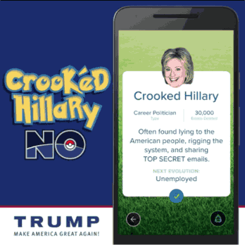 Donald Trump Pokémon Go