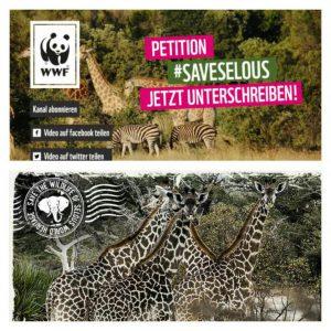 Klarer Call to action der #Saveselous -Kampagen vom WWF