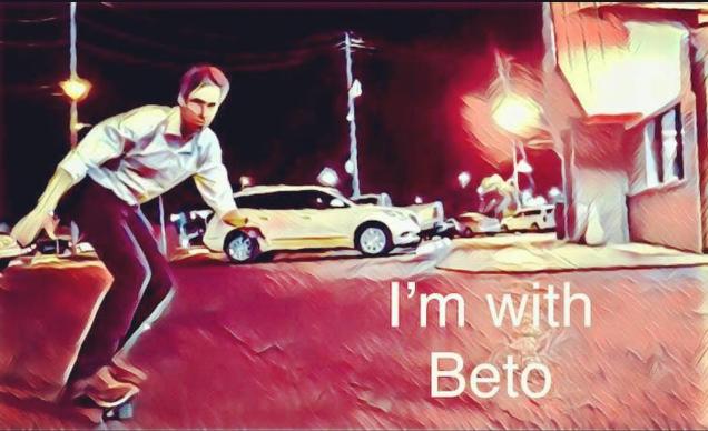 Beto O'Rourke Skateboard