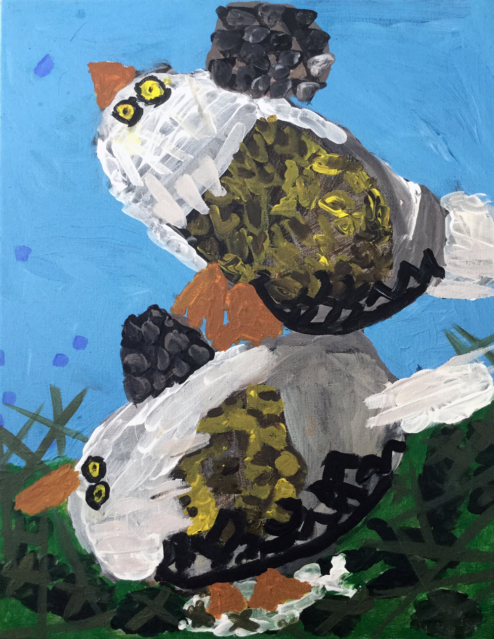 Pair of Eagles by Sarah Dobroth