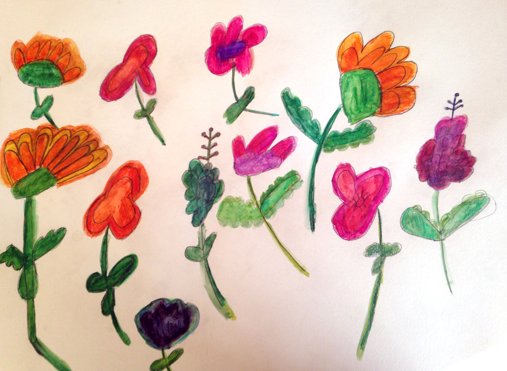 Flowers by Beth Markley