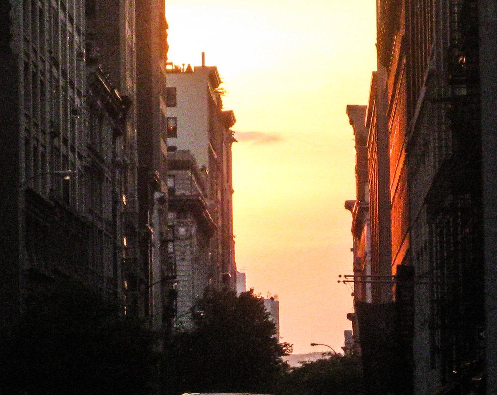 City at Sunset by Jeremy Grisham