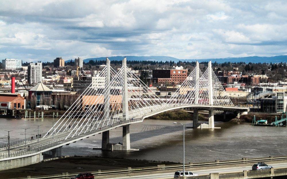 Tilikum Bridge by Jeremy Grisham