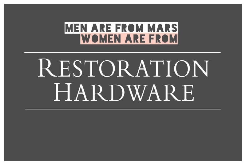 Restoratiion Hardware