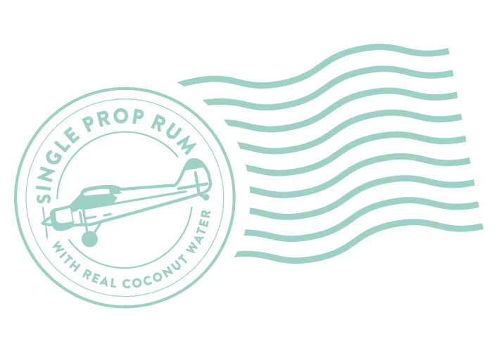 single-prop-rum-plane-postage