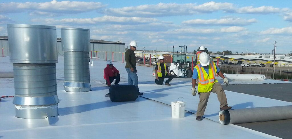 - Commercial Roofing