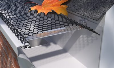 EZ Flow Powder Coated Leaf Guard