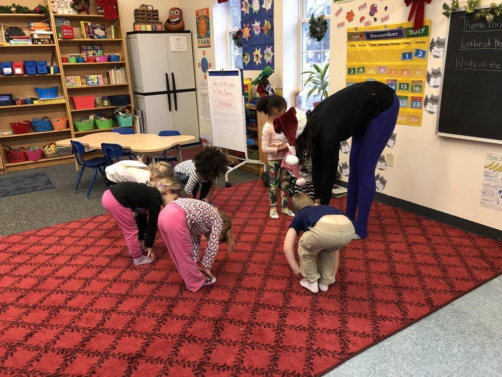yoga at school
