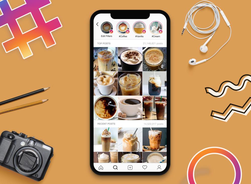 Instagram Hashtag Filters