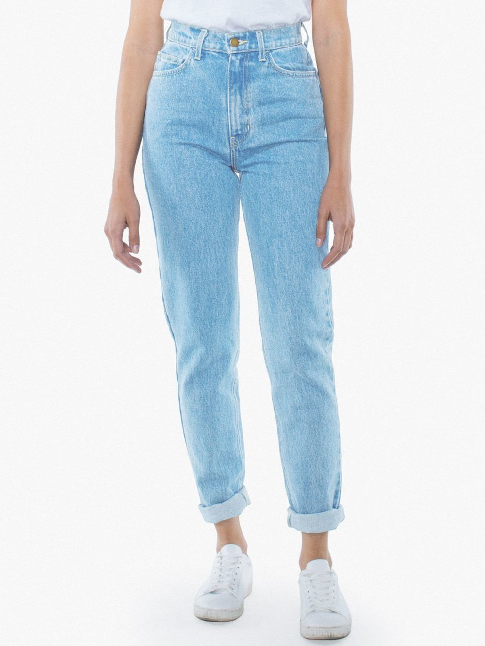 High-Waist Denim Jean