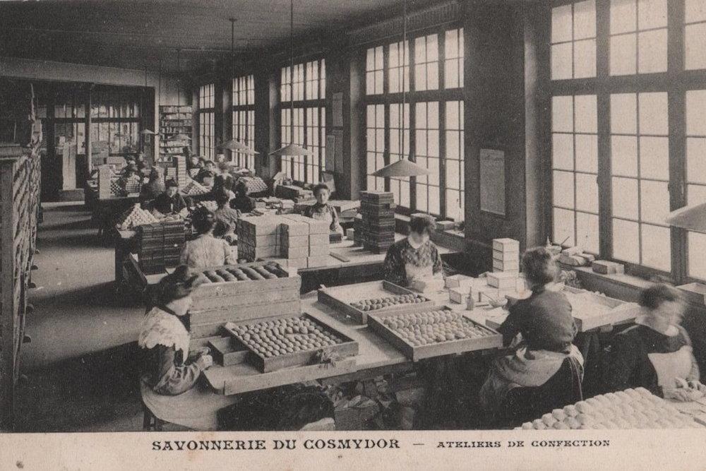 Cosmydor marque historique 1877 savoir-faire france Paris