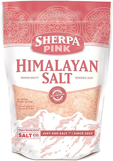 Himalayan Pink Salt, my everyday source of sodium.