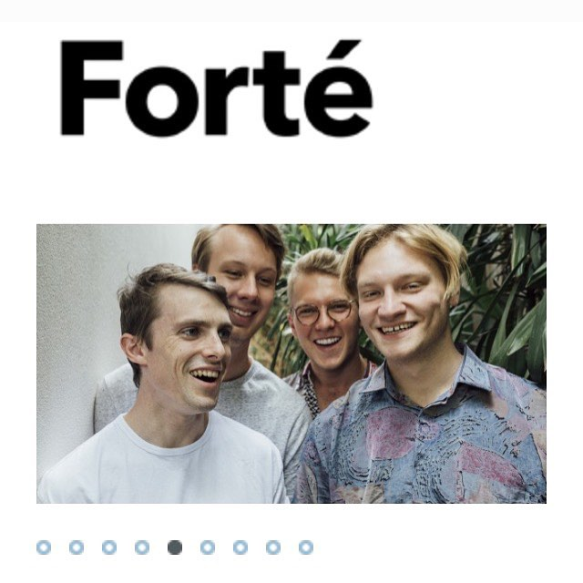 We interviewed with the crew from @forte_mag 🎪Check the damage at the link in our bio, or keep an eye out for a print copy 📰👀