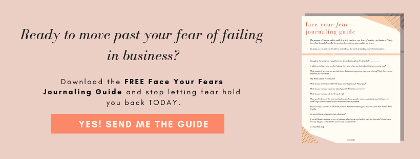 hey entrepreneur. here is the business coaching you need to overcome your fear of failure in business.