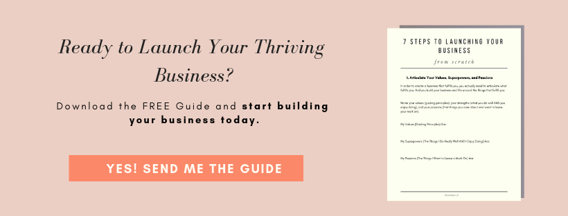 how to start an online business for multi-passionate creatives