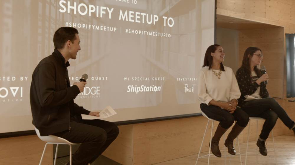 Shopify MeetUP TO at Shopify Toronto