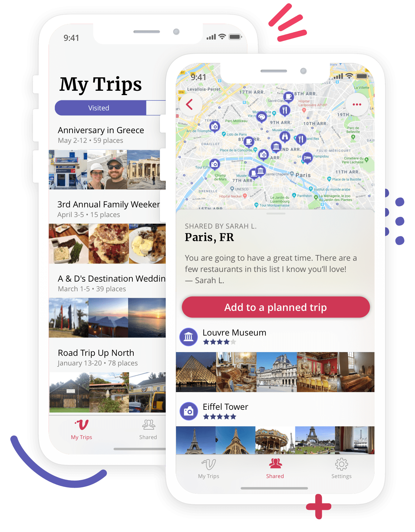 veeya travel journal app
