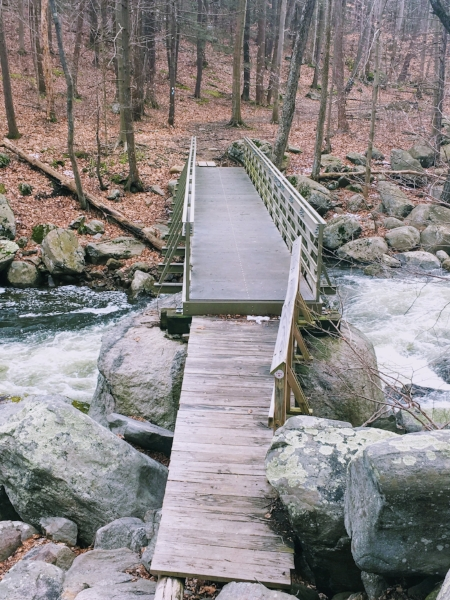 Footbridge over Popolopen Creek