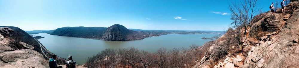 Great Pano shot from one of the main lookout areas - 4/14/18