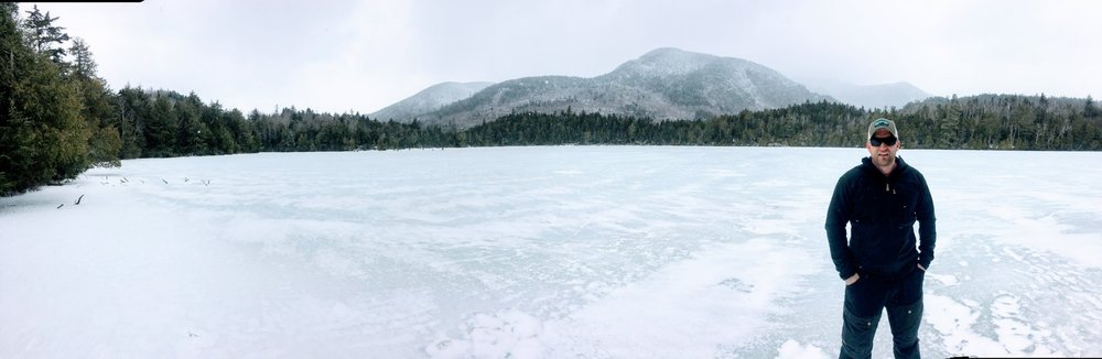 Copperas Pond in Lake Placid - Easter Sunday 2018