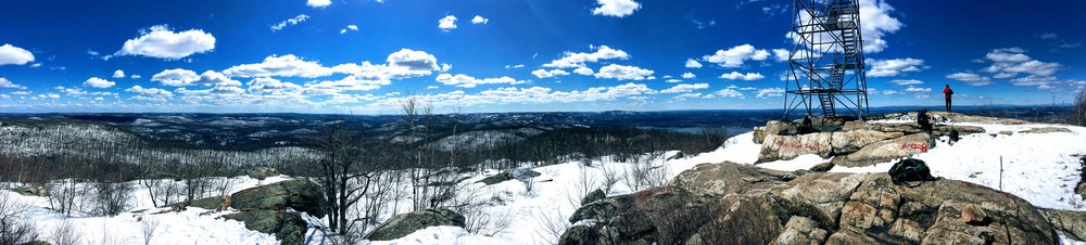 Summit shot from Mt. Beacon in Beacon, NY. I took Fishkill Ridge from the north and made my way over to Beacon's summit in March, 2018.