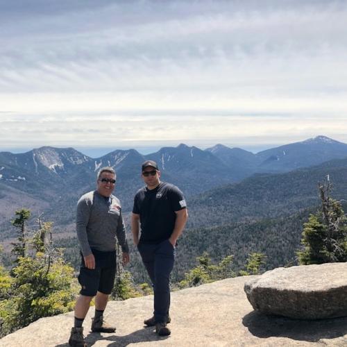 Summit shot with my dad