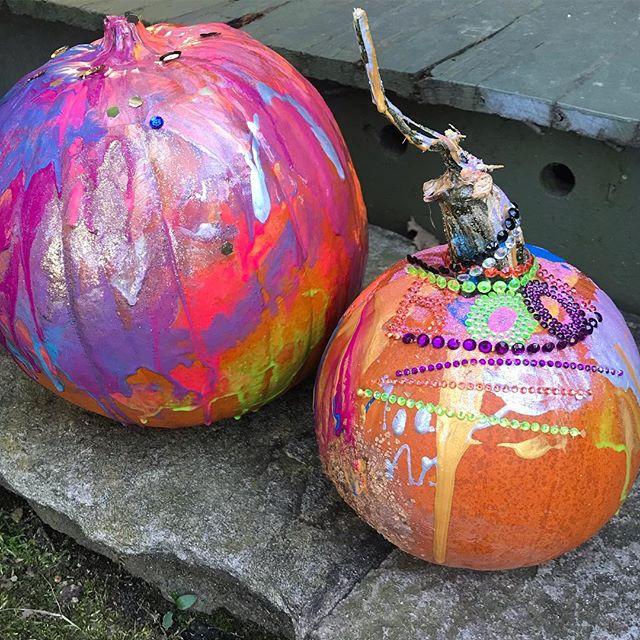 Happy Halloween! Have fun trick-or-treating tonight! #halloweenart #processart #kidsart