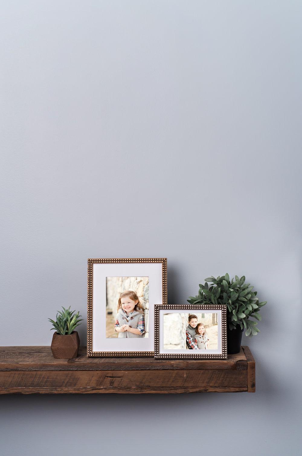 School photos with frame