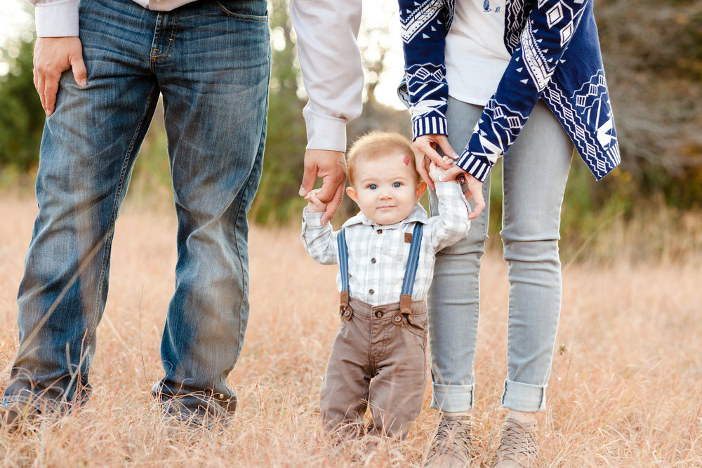 arbor hills with baby photograph