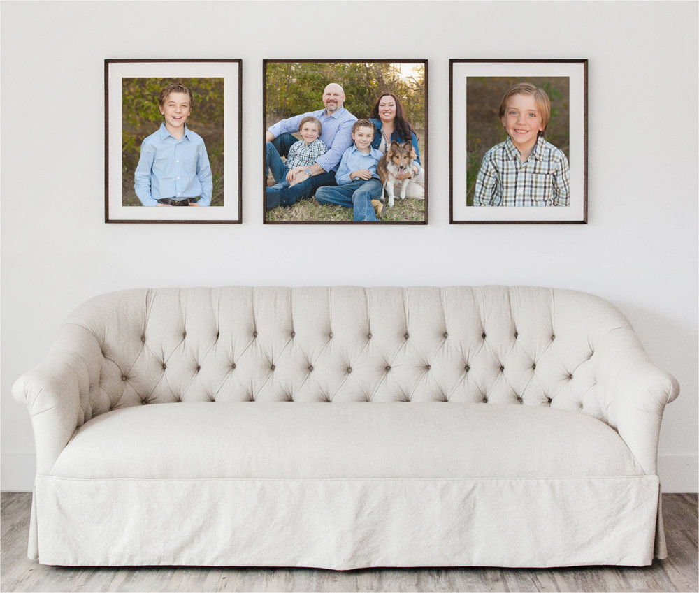Photo Gallery Design with Frames