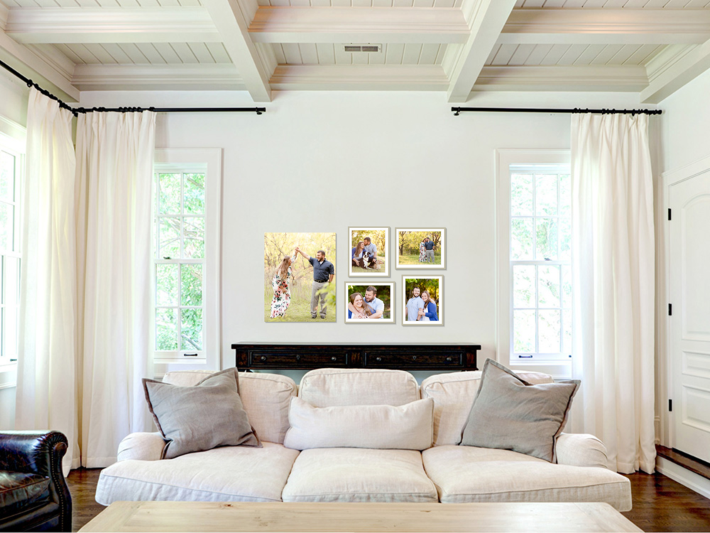 Photo Gallery Wall design