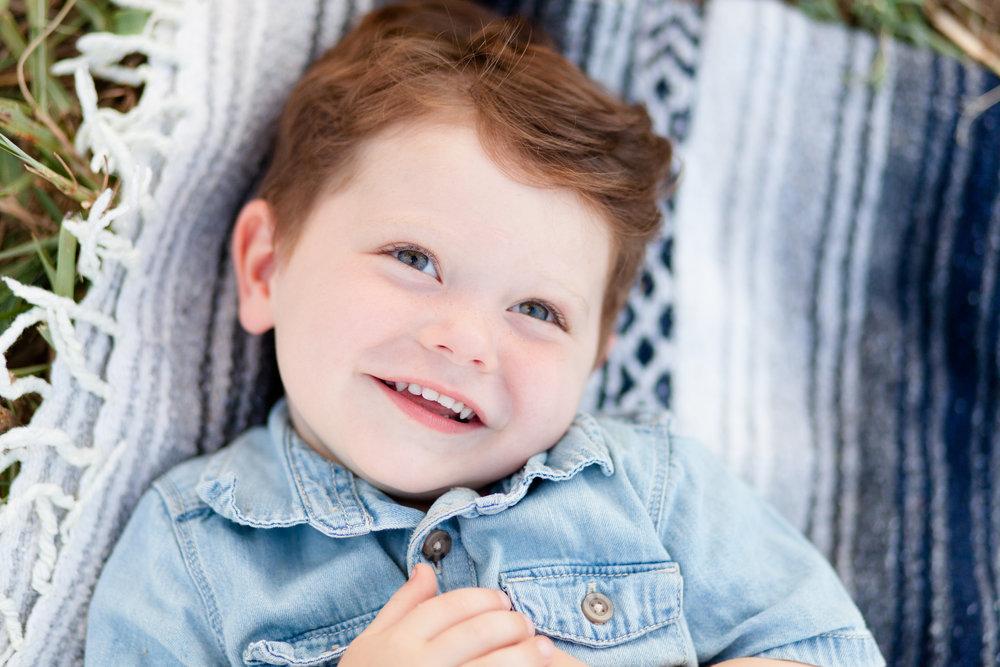 Baby boy candid photo