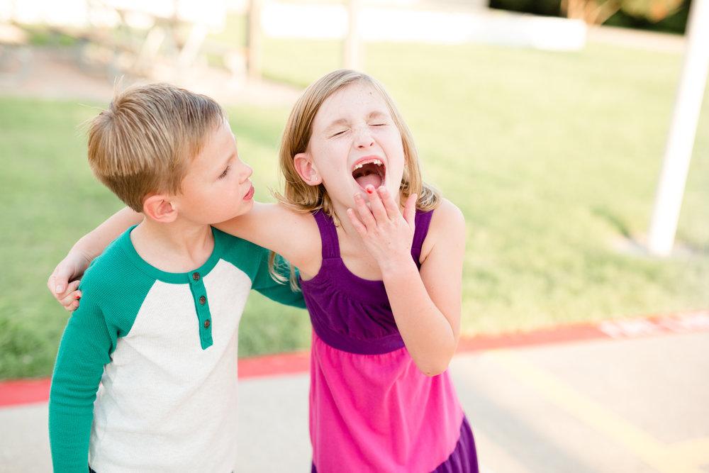 sibling school photo