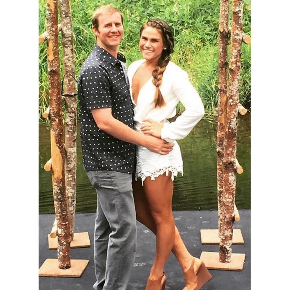 Our client looked so bronzed and beautiful in this pic, I had to share it! PS, I love your romper  @jay_beck6 !