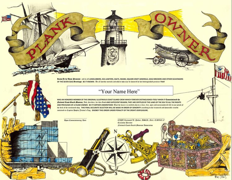About the plankowner certificate the national coast guard museum plankowner templateg yelopaper Image collections