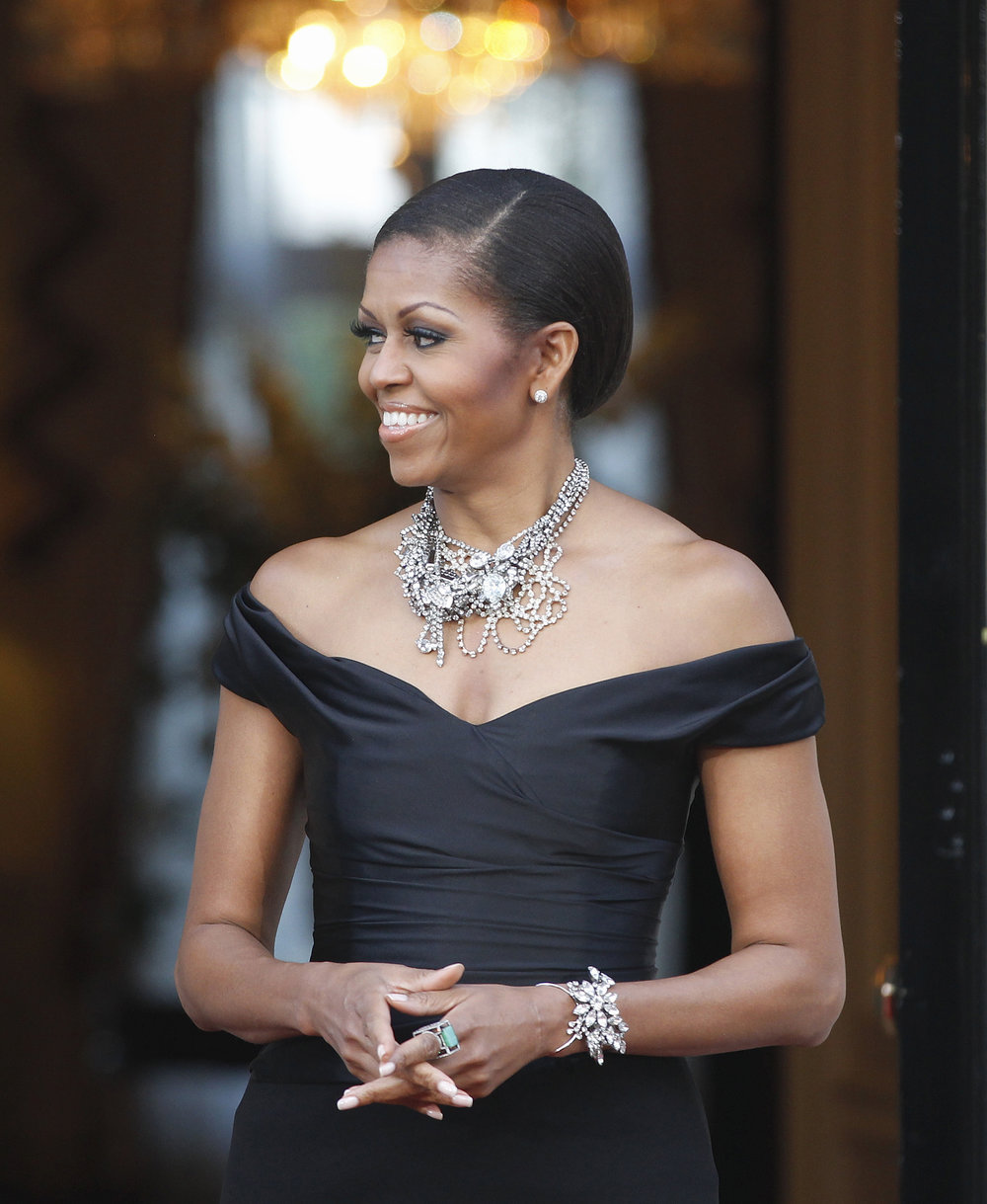 YEWN and Michelle Obama -