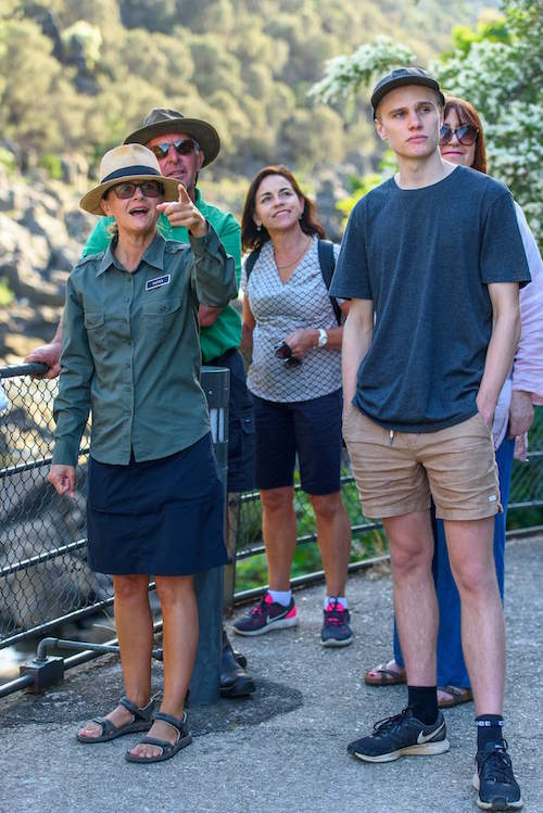 Walk Cataract Gorge - commentary