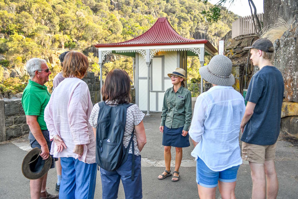 Walk Cataract Gorge - meeting point