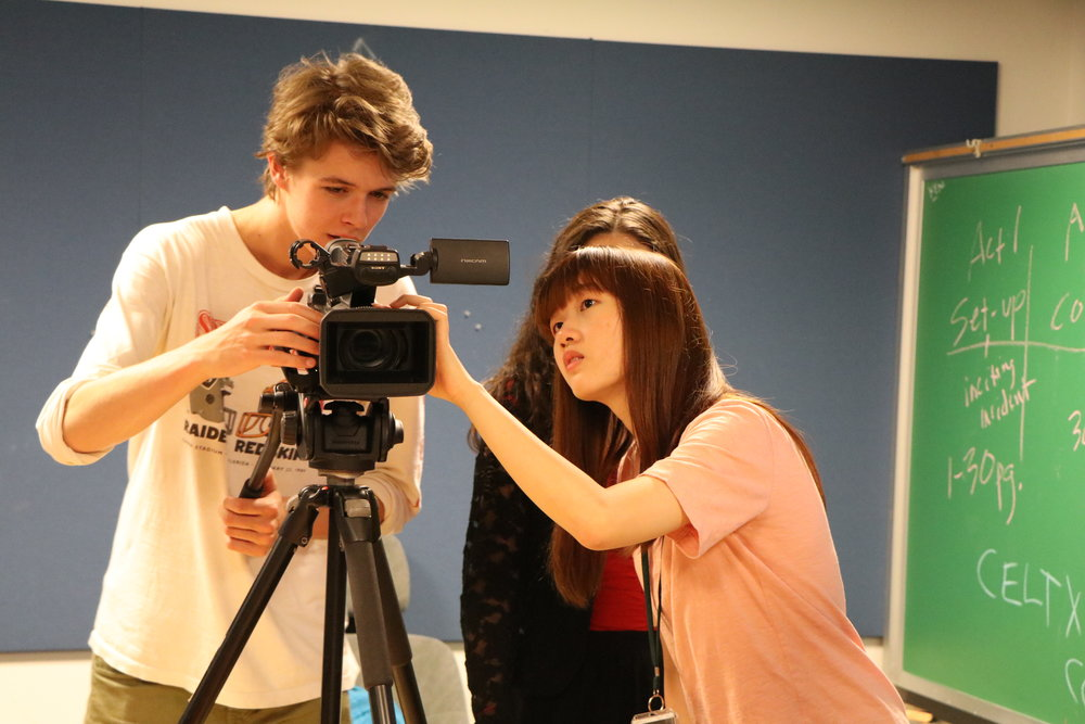 International students summer filmmaking program