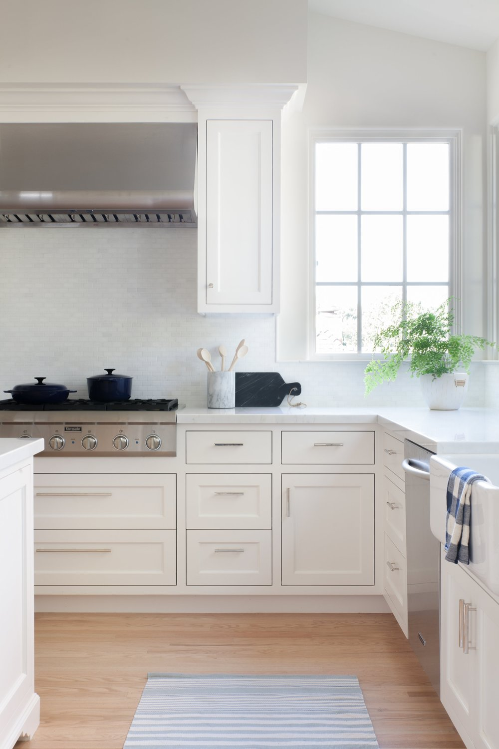 Burlingame White Kitchen